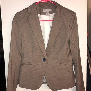 Brown plaid blazer 🍂🍁